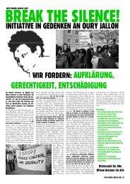 Inforeader Januar 2007 - Karawane für die Rechte der Flüchtlinge ...