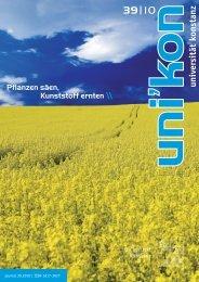 unikon 39 - Universität Konstanz
