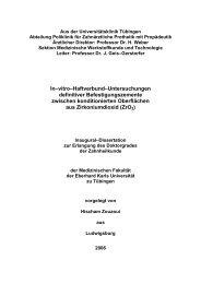 In–vitro–Haftverbund–Untersuchungen definitiver ...