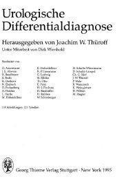Urologische Differentialdiagnose