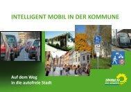 INTELLIGENT MOBIL IN DER KOMMUNE - Toni Hofreiter