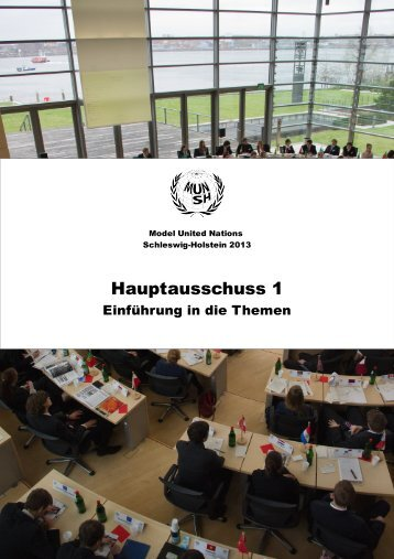 Hauptausschuss 1 - Deutsche Model United Nations eV
