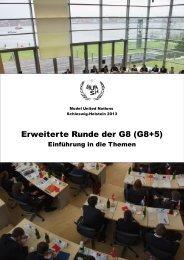 Erweiterte Gruppe der G8 - Deutsche Model United Nations eV