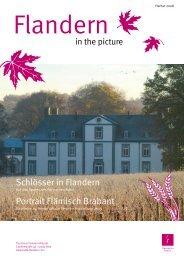 Schlösser in Flandern Portrait Flämisch Brabant - Trade.flandern.com