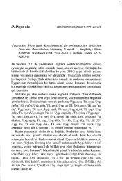 Uigurisches Wörterbuch, Sprachmaterial der vorislamischen ...