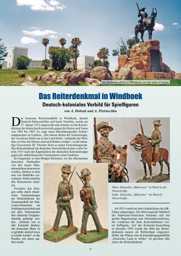 Das Reiterdenkmal in Windhoek