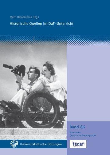 Deutsche Geschichte im DaF Unterricht ² zur Arbeit mit historischen ...