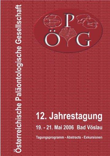 Harzhauser, M., Wanzenböck, G., Zuschin, M. 2006. 12