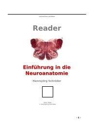 Reader - Einführung in die Neuroanatomie - UK-Online