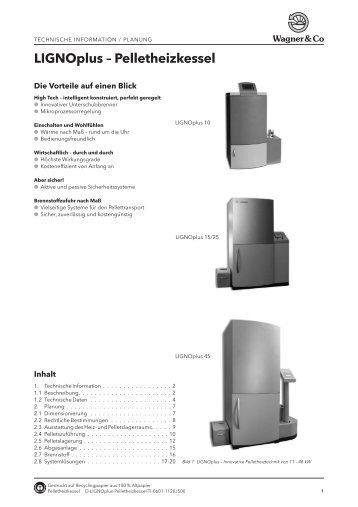 LIGNOplus – Pelletheizkessel - Wagner & Co Solartechnik GmbH