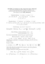 MUSTER (zur Nachklausur Theo. Physik für LAK I, WS12/13) Diese ...