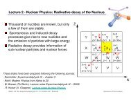 EPIV-09SS - Kern-K2 - Nuclear decay