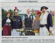 Eichsfelder Allgemeine vom 06.08.2012