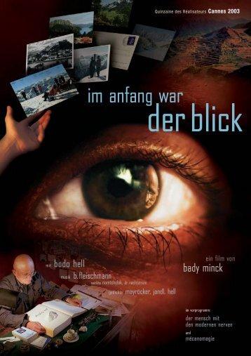 im anfang war - Polyfilm