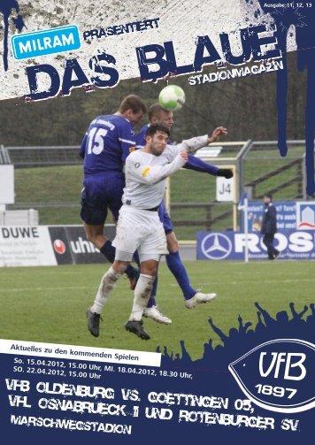 Saison 2011/2012 - VfB Oldenburg