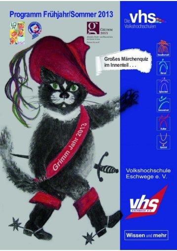 print job - Volkshochschule Eschwege eV