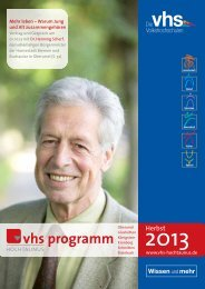 Download (7 MB) - Volkshochschule Hochtaunuskreis