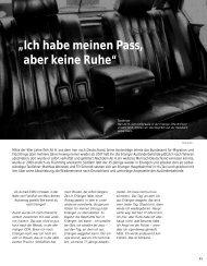 """""""Ich habe meinen Pass, aber keine Ruhe"""" - Hinterland Magazin"""