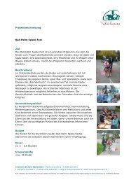 Rad-Helm-Spiele-Fest - Initiative Sichere Gemeinden