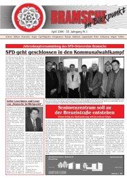 BiB April 2006 - SPD-Ortsverein Bramsche