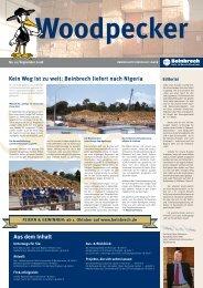 Aus dem Inhalt Kein Weg ist zu weit: Beinbrech liefert nach Nigeria