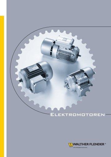 Elektromotoren - Walther Flender