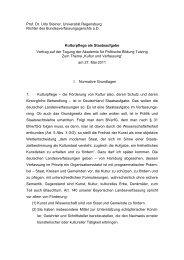 Prof. Dr. Udo Steiner, Universität Regensburg Richter des ...
