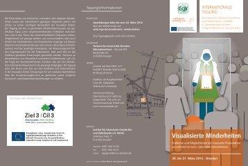 Visualisierte Minderheiten - Institut für Sächsische Geschichte und ...