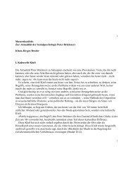 Lesen Sie hier den vollständigen Text - Freie Universität Berlin