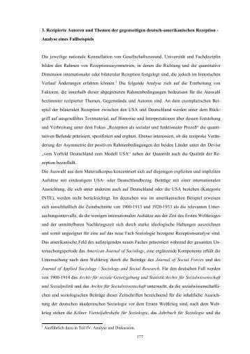 3. Rezipierte Autoren und Themen der gegenseitigen deutsch ...