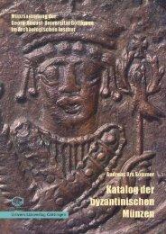 Katalog der byzantinischen Münzen - Oapen