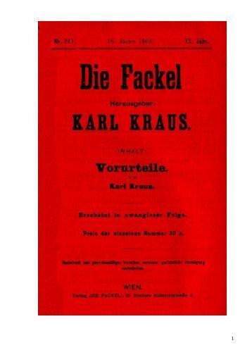 Vorurteile. - Welcker-online.de