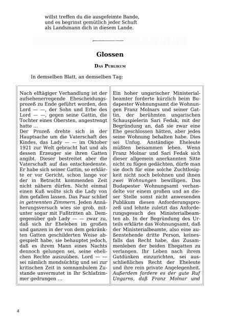 Glossen - Welcker-online.de