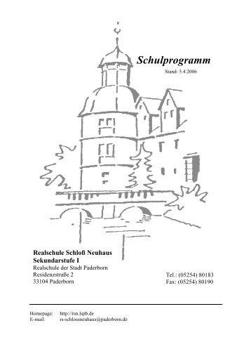 Realschule Am Bleichstein schulprogramm rs herdecke april 09 realschule am bleichstein