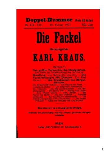 Das größte Verbrechen des Strafgesetzes. - Welcker-online.de