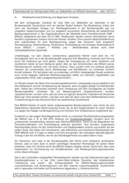 Unterschriften - Wemepes.ch