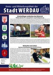 Schulanfänger entdecken das Römertal Einkaufen ... - Stadt Werdau