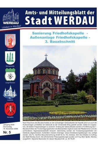3. Bauabschnitt - Stadt Werdau