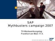 Wie für mich gemacht – Case Study: SAP AG - Wirkstoff TV