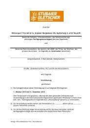 Vereinbarung deutsch