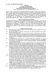 Ordnung der Ersten Staatsprüfungen für Lehrämter an Schulen (LPO)