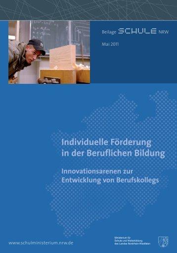Individuelle Förderung in der Beruflichen Bildung - Nordrhein ...