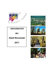 zum Bericht 2011 - Wunsiedel
