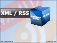 11 Uhr - Mustafa Güner: XML, RSS