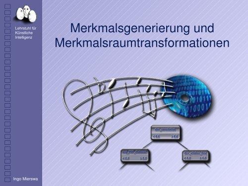 s - Lehrstuhl für Künstliche Intelligenz der Universität Dortmund