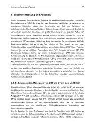 5 Zusammenfassung und Ausblick - Ruhr-Universität Bochum