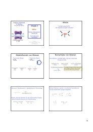 Alkene, Struktur, Nomenklatur und Reaktivität