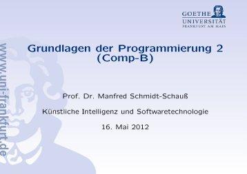 Grundlagen der Programmierung 2 (Comp-B)