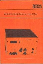 Statron Typ 3224 - Technische Universität Chemnitz