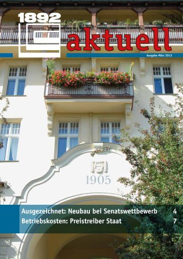 aktuell - Berliner Bau